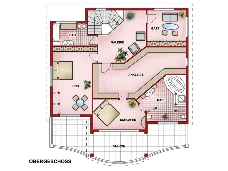 charisma haus villa toskana. Black Bedroom Furniture Sets. Home Design Ideas